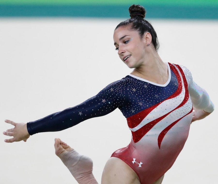 Six-time+Olympic+medalist+Aly+Raisman+was+one+of+the+many+gymnasts+to+come+forward+about+their+experiences+with+Nassar%27s+abuse%2C+quickly+becoming+a+face+of+this+movement+for+women%27s+rights.+Photo+courtesy+of+Creative+Commons.