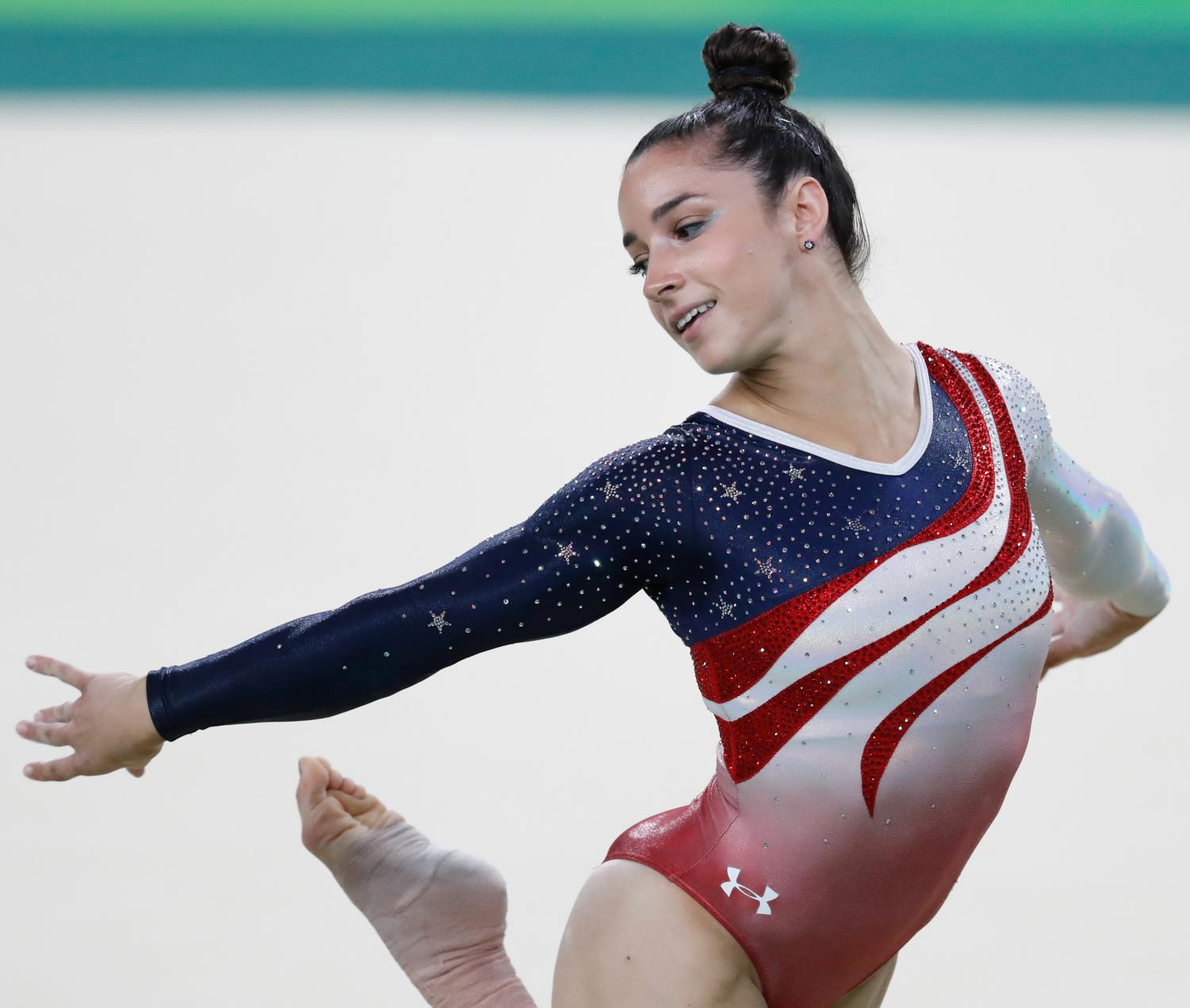 Six-time Olympic medalist Aly Raisman was one of the many gymnasts to come forward about their experiences with Nassar's abuse, quickly becoming a face of this movement for women's rights. Photo courtesy of Creative Commons.