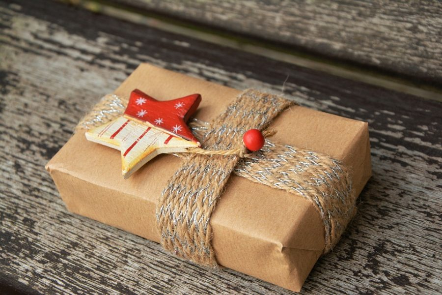 Christmas Packed Gift Parcel Surprise Gift