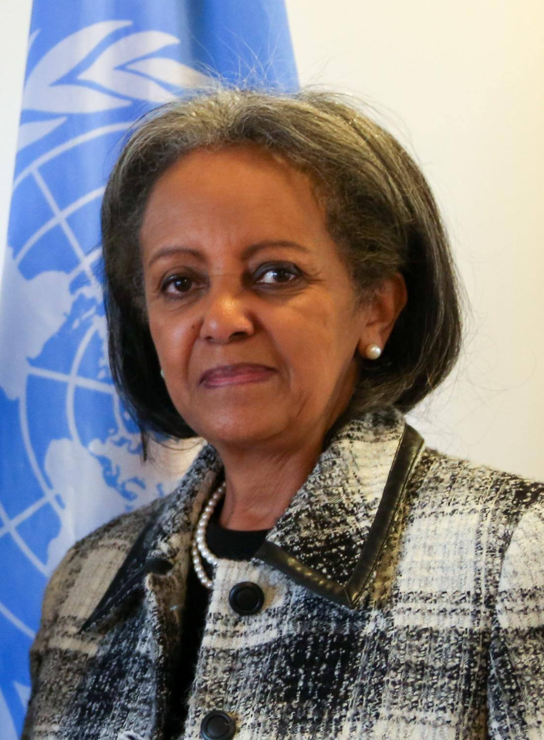 The 1st female president of Ethiopia. Photo courtesy of Creative Commons.