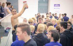 Boys varsity swim team gets second in league