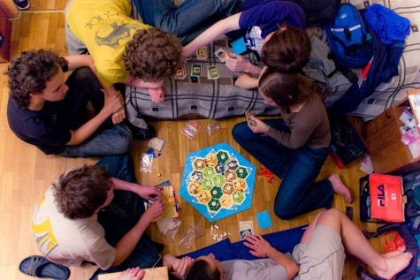Board games let you and your friends bond at home. Photo courtesy of Creative Commons.