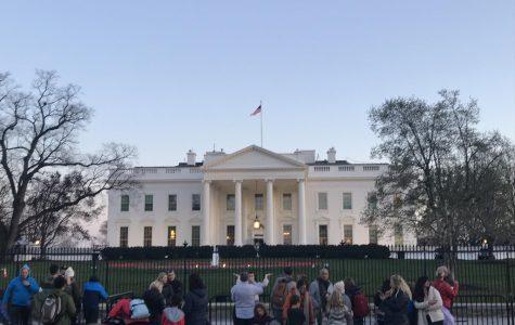 The White House in Washington D.C.   Photo courtesy of Sanya Gupta.