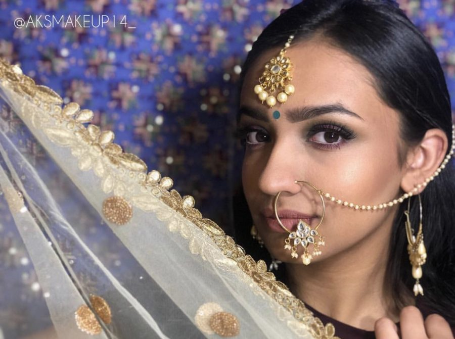 Anu Sandhu is exploring her love for makeup through Instagram. Photo courtesy of Anu Sandhu.