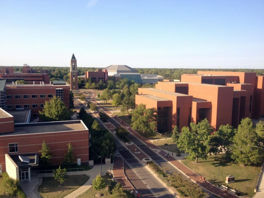 McKinley Avenue at Ball State University, Stefani Jackson's original college decision.