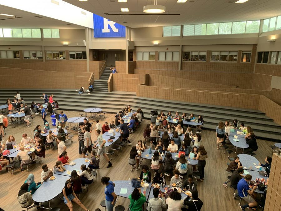 8th graders from Reuther visit RHS