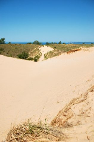 Looking for a weekend trip this summer? The Sleeping Bear Sand Dunes are just a car-ride away. Photo courtesy of Creative Commons.