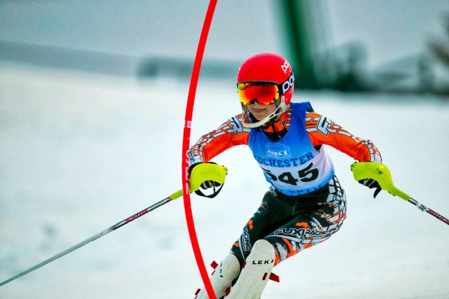 Ski+Team+Takes+to+the+Slopes