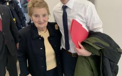 A visit from Madeleine Albright, Elissa Slotkin and some socks.