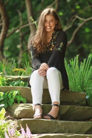 Senior Photo taken at the Meadow Brook Hall