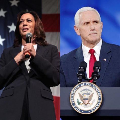 Harris, Pence take the floor at vice presidential debate